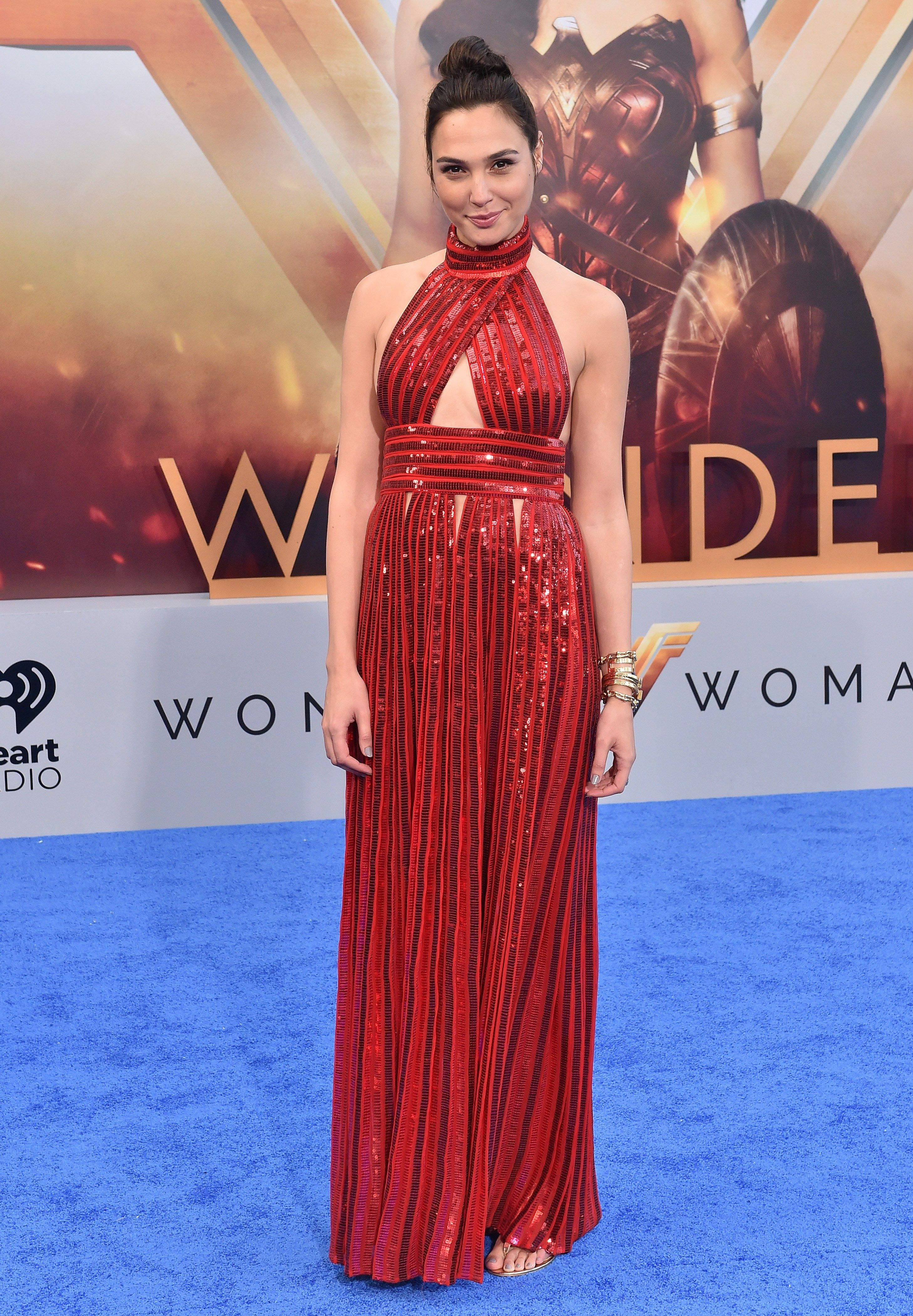 How Gal Gadot Brings *Wonder Woman*'s Power to the Red Carpet