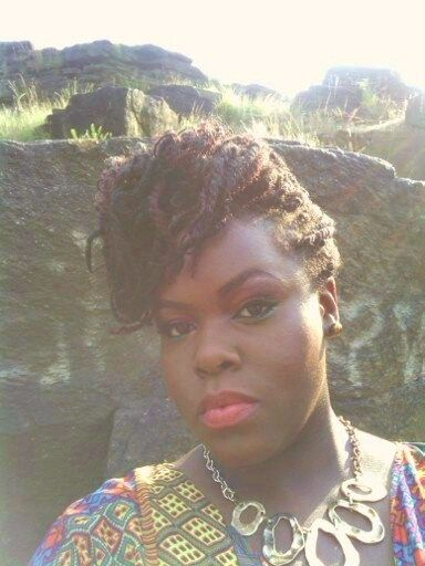 Natural Hair Styles for Black Women: Kinky twist updo