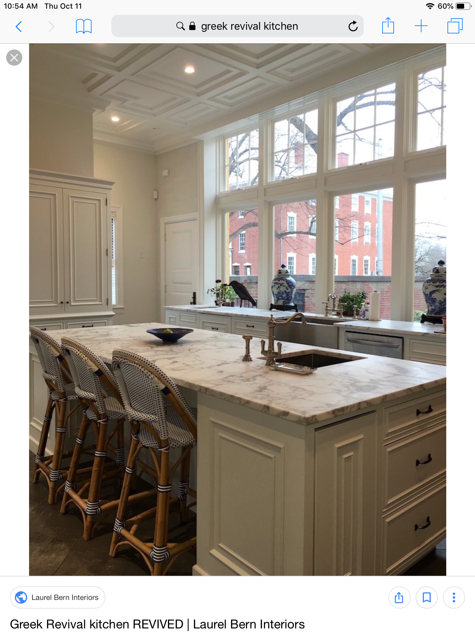 Sag Harbor House By P T Interiors With Images: Greek Revival Home, Home Decor Kitchen, Kitchen Decor