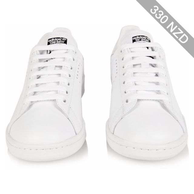 new concept 36dcf e3964 Raf Simons X Adidas Stan Smith leather trainers Cheap Adidas Shoes, Sneakers  Adidas, White