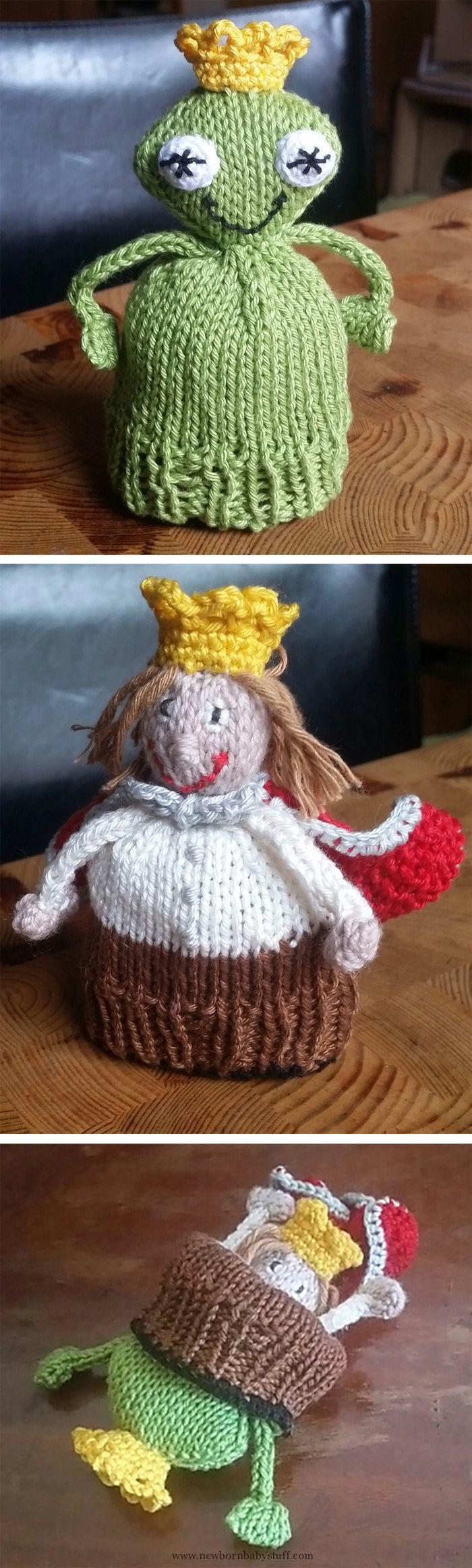 Baby Knitting Patterns Free Knitting Pattern for Frog Prince Flip ...