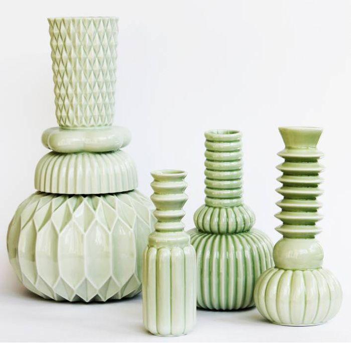 vase samsurium honkadonka green turquoise 1 ceramics pinterest keramik porzellan und ideen. Black Bedroom Furniture Sets. Home Design Ideas