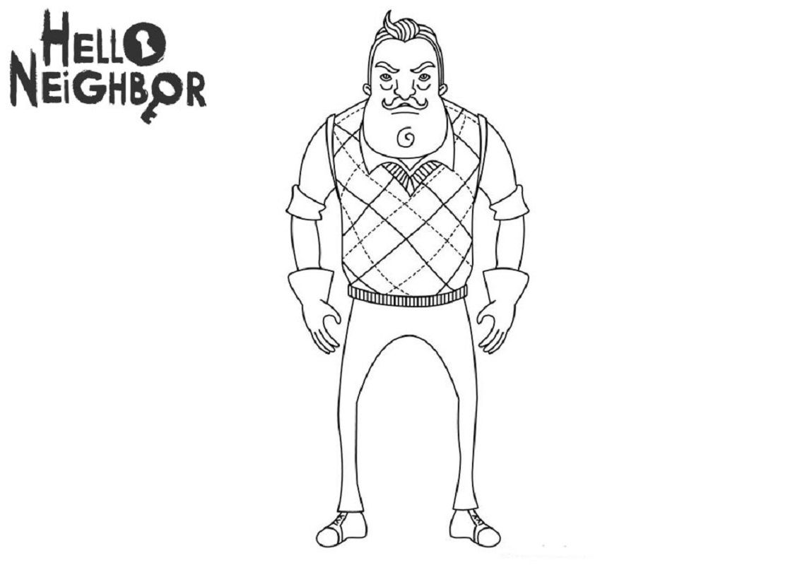 Full Version Of Hello Neighbor Coloring Pages Coloring Pages Paw Patrol Coloring Pages Hello Neighbor