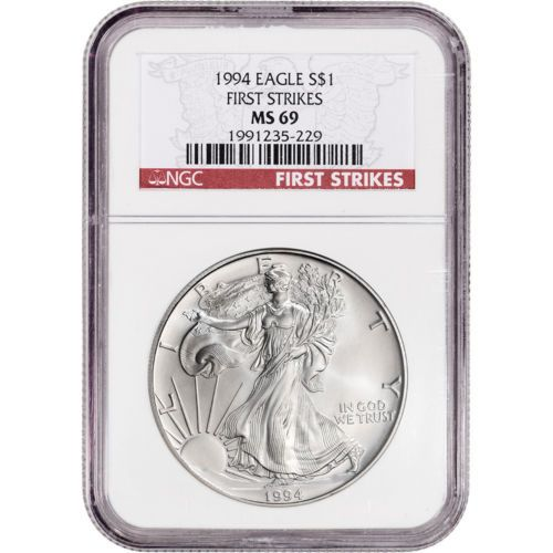 American Silver Eagle NGC MS70 S Trolley Label First Releases 2013-