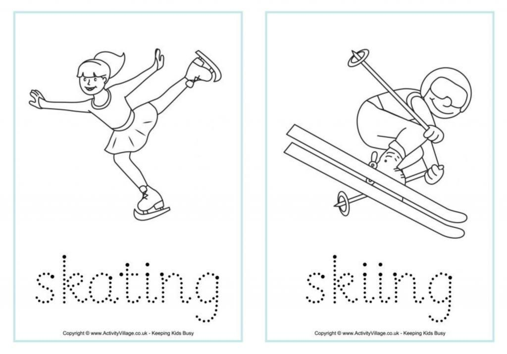 Winter Olympics printables and