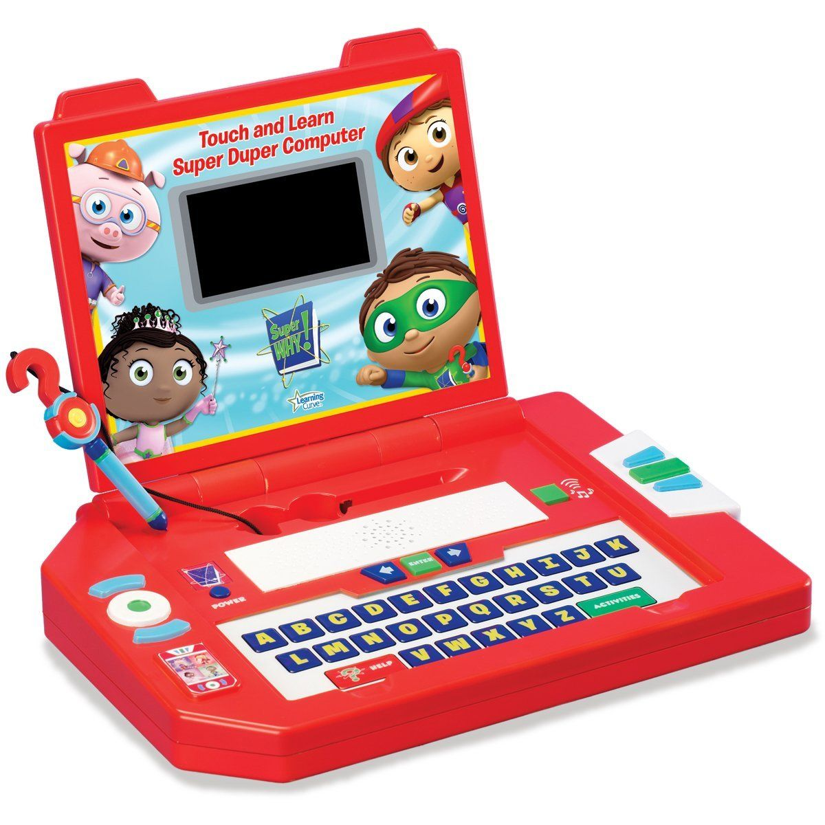 Super Why! The Power to Read - Standard Edition: Mac ... |Super Why Duper Computer
