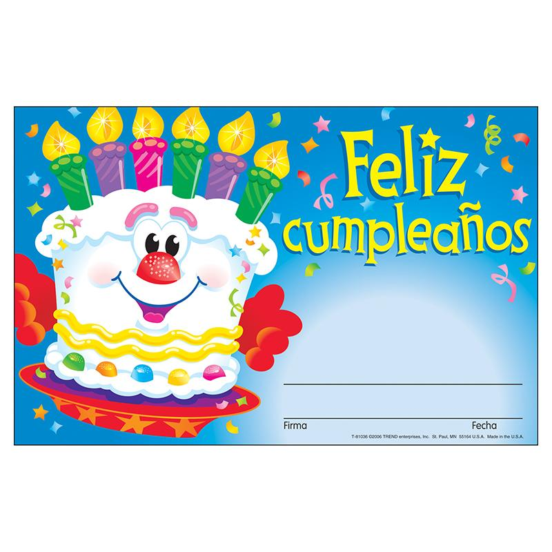 Awards feliz cumpleanos pastel | Teaching Products | Pinterest
