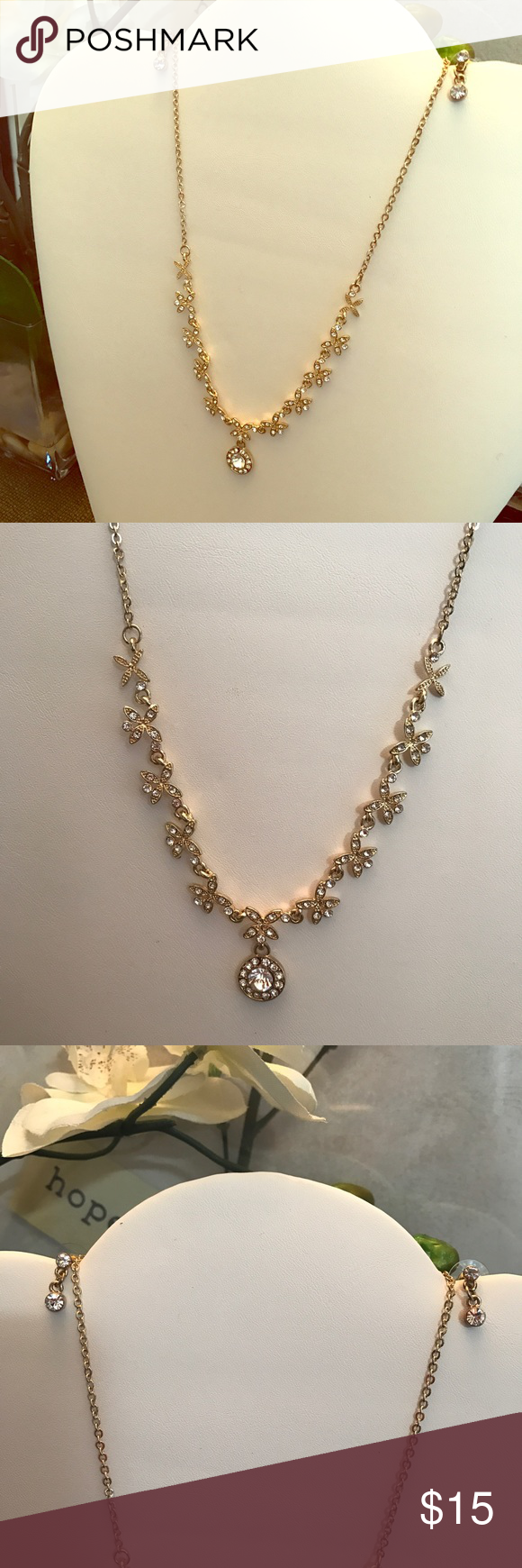 New gorgeous dainty necklace and earrings set statement necklaces