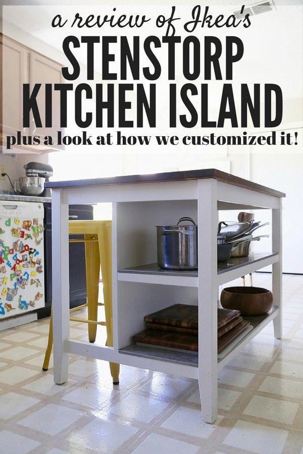 Kitchen Island Hack ikea hack: stenstorp kitchen island | ikea hack, kitchens and