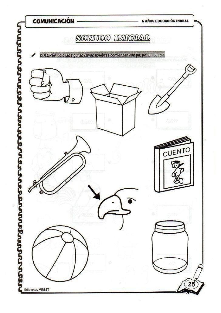 Comunicacion educación inicial 5 años | actividades para primaria ...