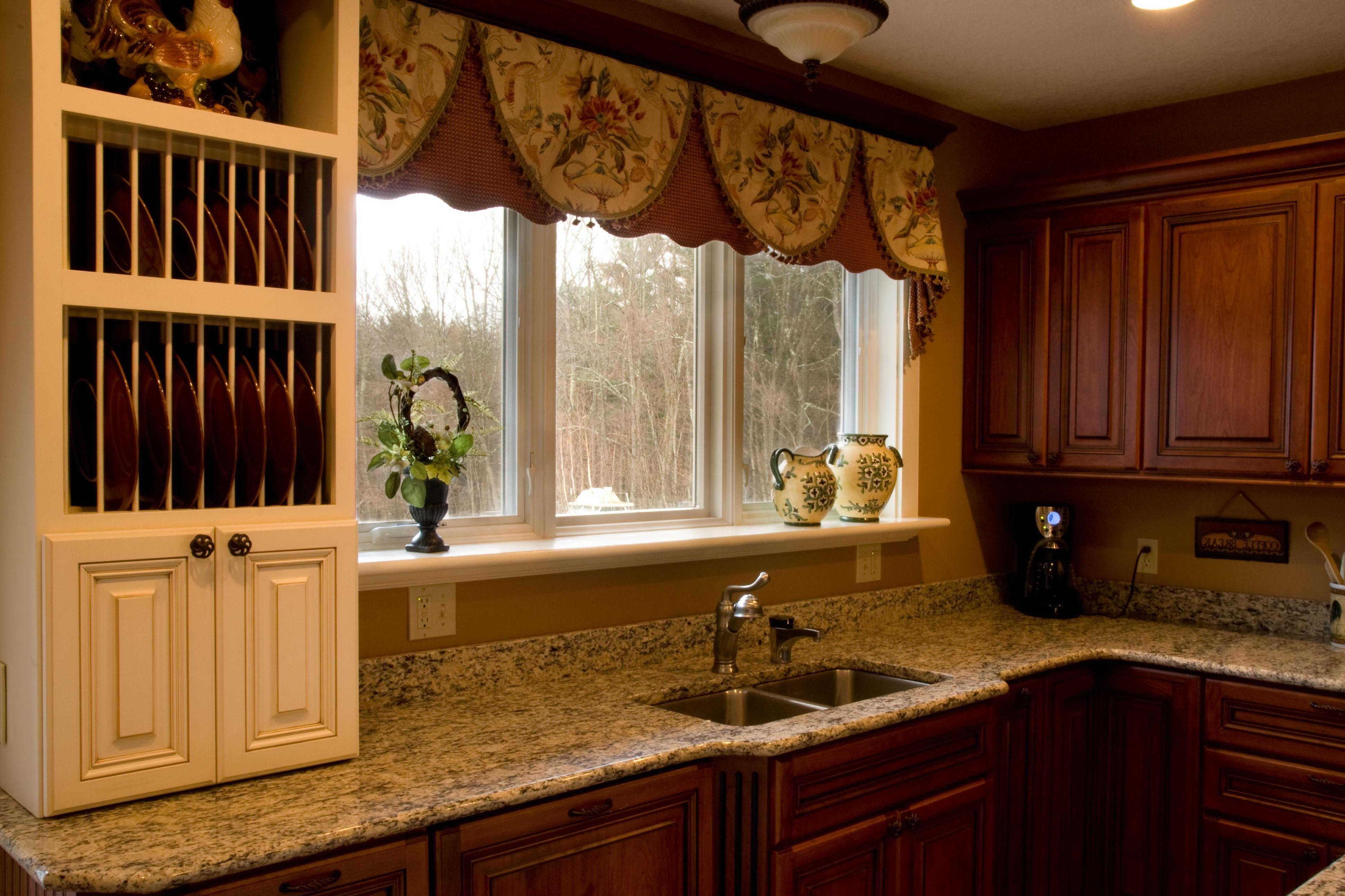 Elegant Kitchen Curtain and also latest kitchen curtains ...
