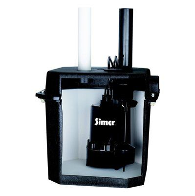 Simer 1 4 Hp Thermoplastic Laundry Tray Pump Plumbing