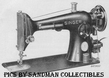 Sandman-Collectibles' Singer Sewing Machine Identification