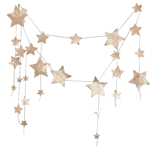 Pngs For Moodboards Posts Tagged Png Star Garland Gold Glitter Stars