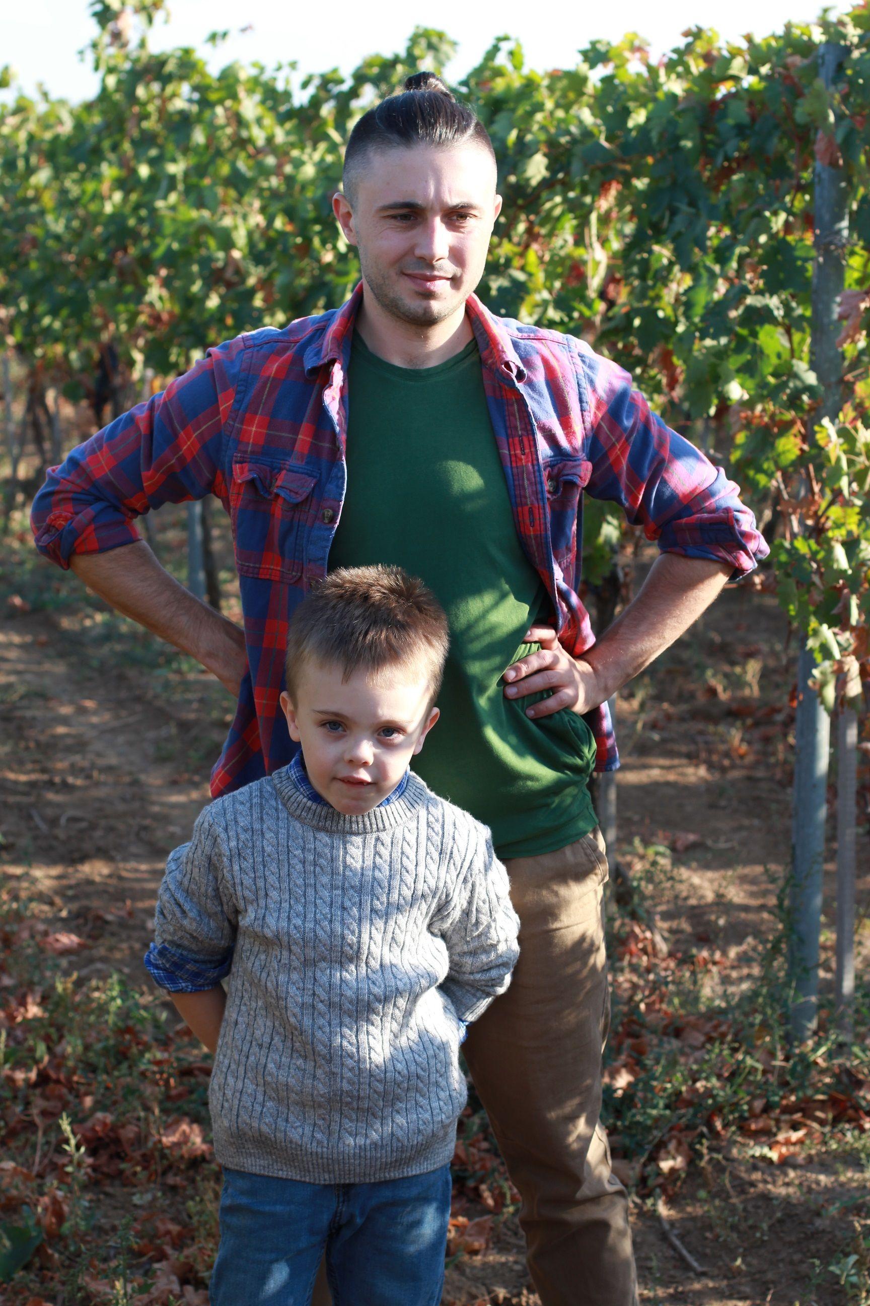 Тарас Тополя с сыном