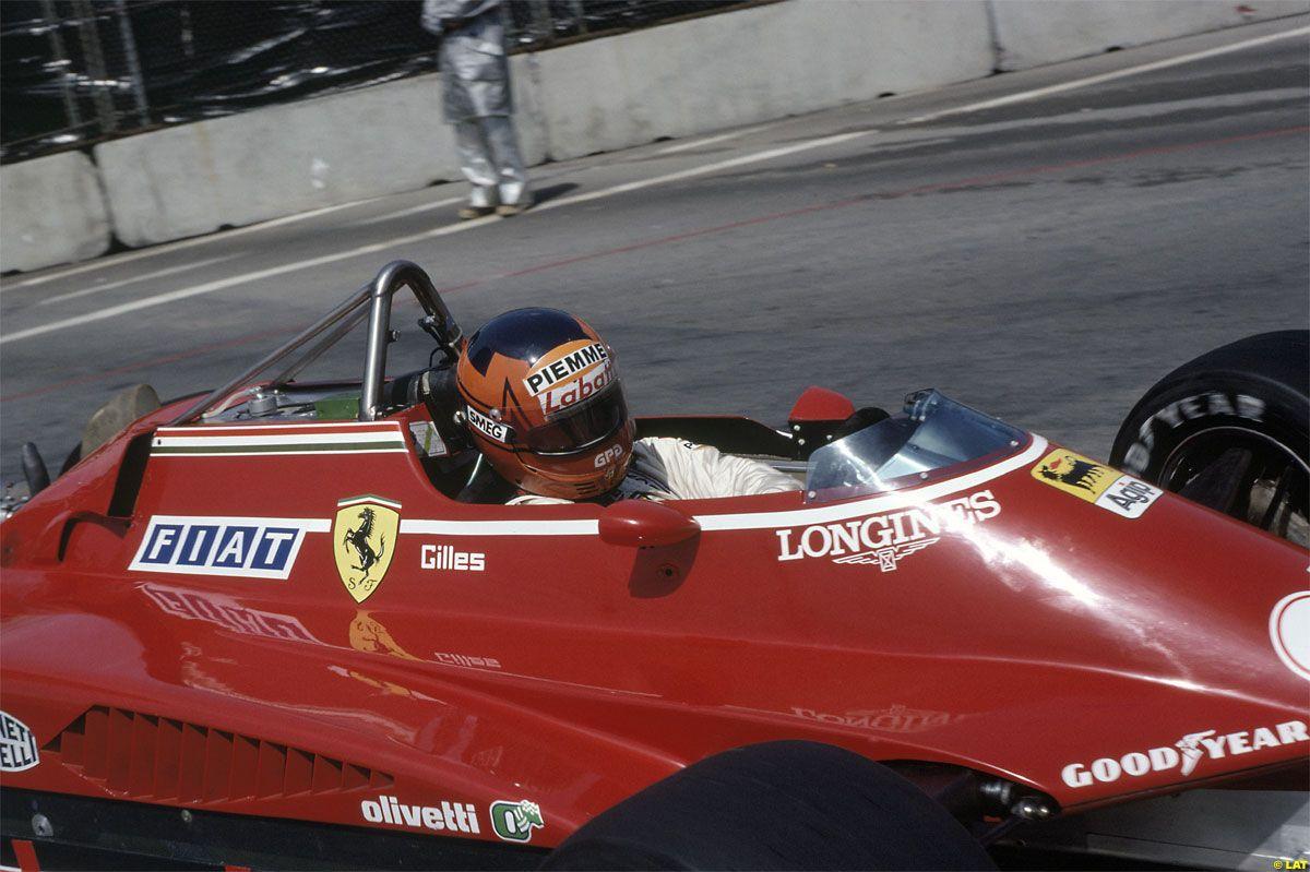 Gilles Villeneuve, Ferrari 126C2, 1982 United States GP West, Long Beach