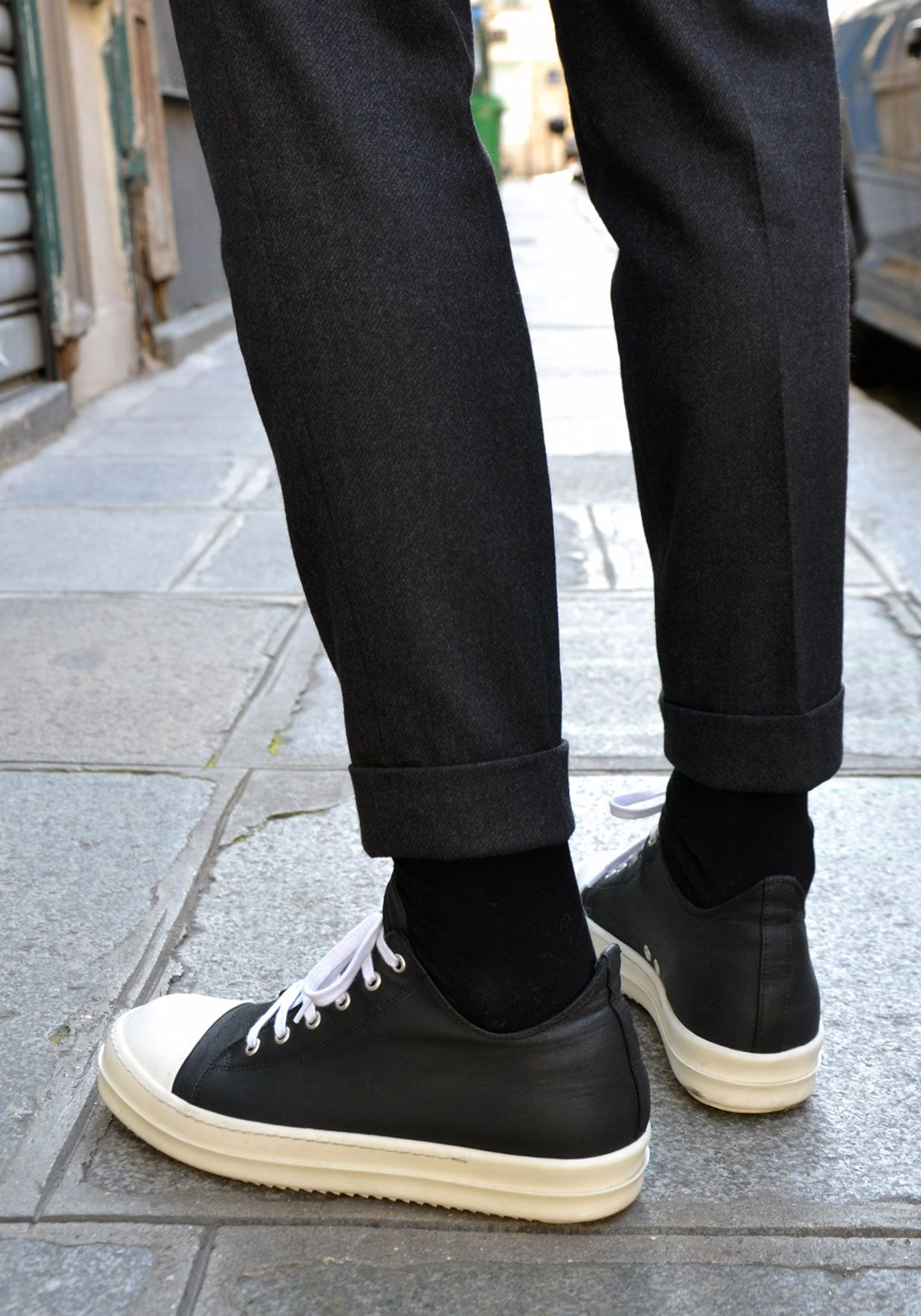 finest selection 9a6da e4fa5 HARRYJWC Rick Owens Sneakers, Men Street, Men s Style, Male Style, Guy Style