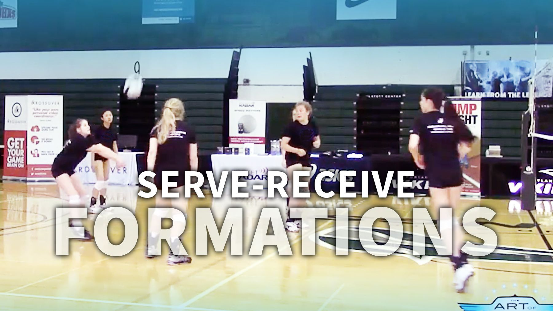 Determining The Serve Receive Formation That S Right For Your Team The Art Of Coaching Volleyball Coaching Volleyball Volleyball Serve Volleyball Training