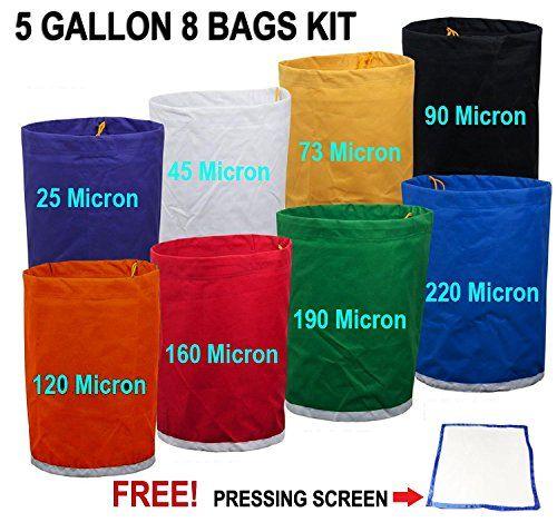 E-ONSale Herbal Ice Bubble Hash Bag Essense Extractor Kit 5-Gallon 8 Bag http://homepatiogarden.net/e-onsale-herbal-ice-bubble-hash-bag-essense-extractor-kit-5-gallon-8-bag/
