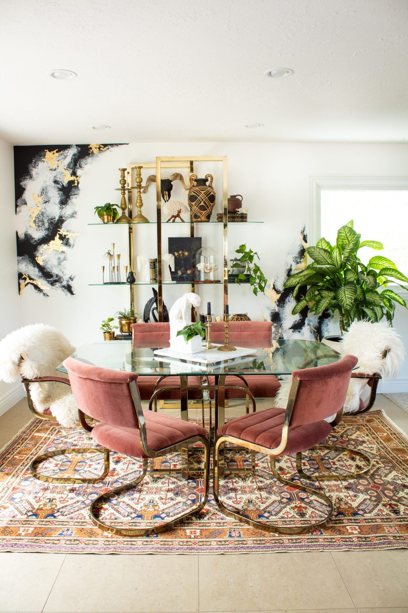 How A Rug Makes A Room Ms Vicious Design Dining Room Rug Rug Dining Room Rug Making Ms living room rugs