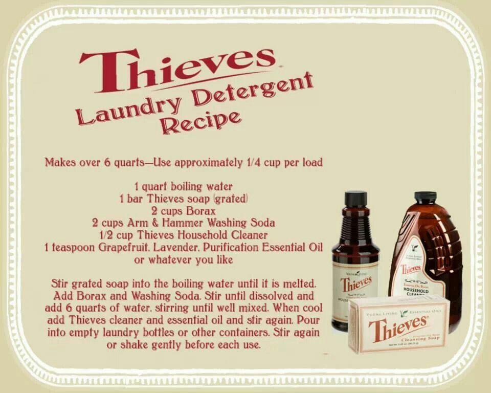 He Laundry Soap Young Living Oils Recipes Living Oils Recipes
