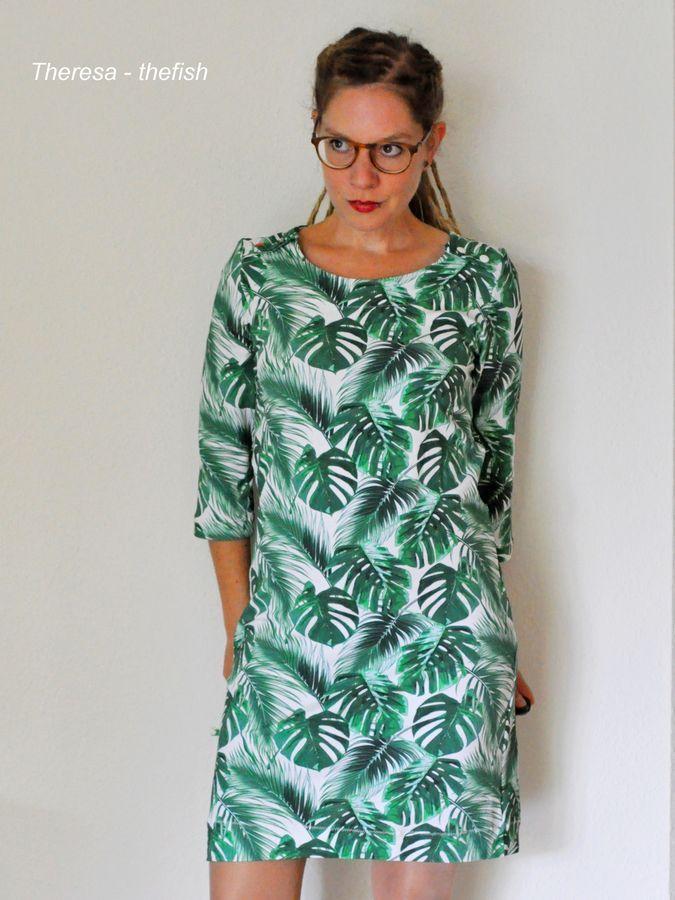 Schnittmuster BASIC.shirt und -kleid von Leni Pepunkt in ...