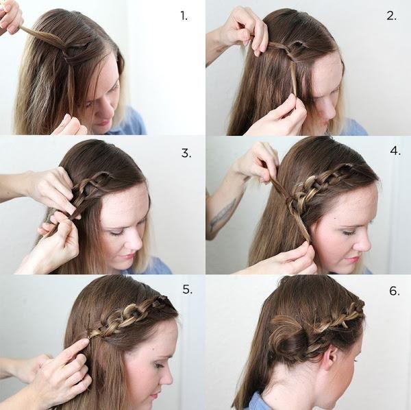 2 Bonitos Peinados Cadena Paso A Paso Ideas De Cabello Largo Peinados Trenzados Para Cabello Largo Peinados