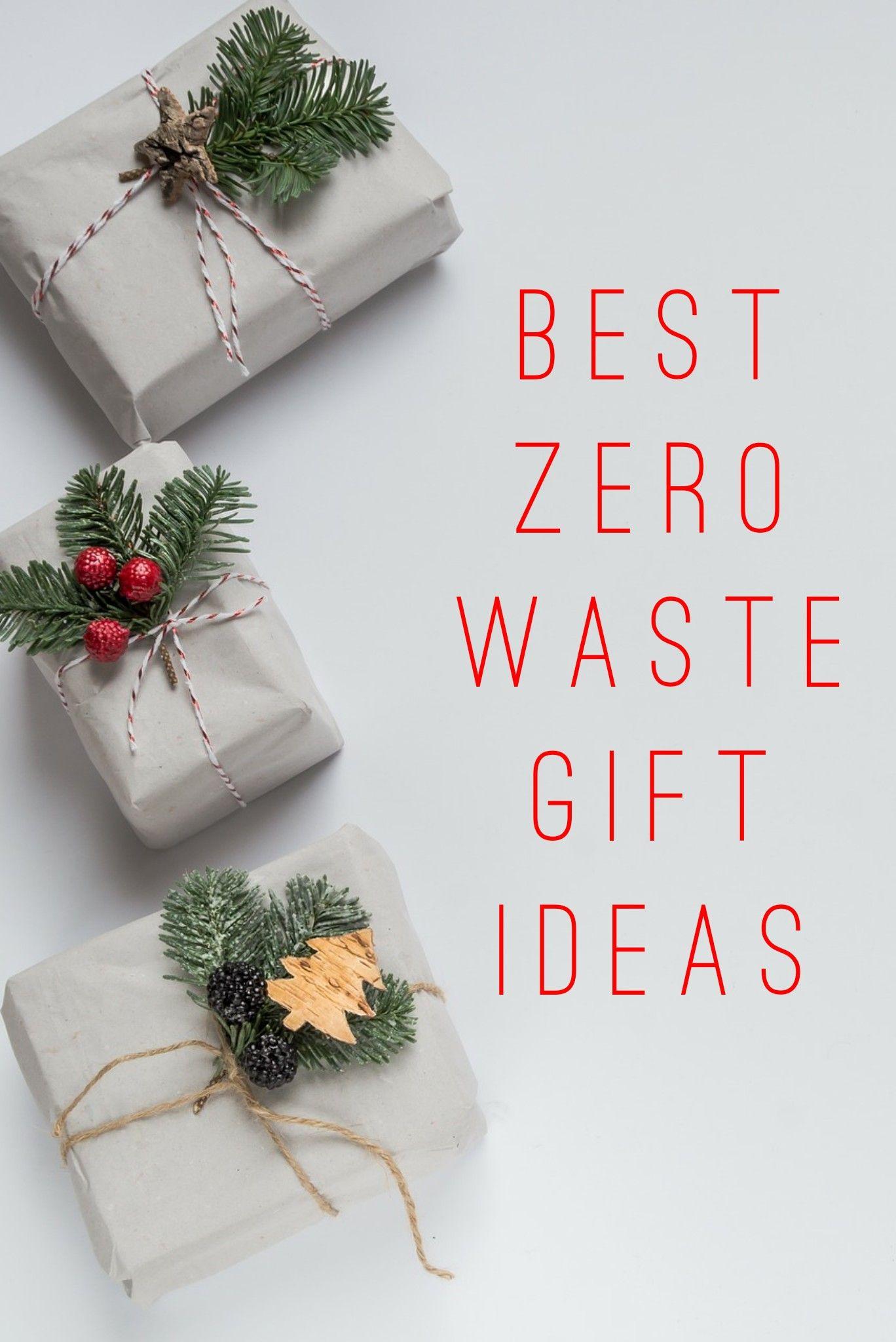 9 Best Zero Waste Gift Ideas For Christmas Vegan Adventurist Zero Waste Gifts Waste Gift Zero Waste Christmas
