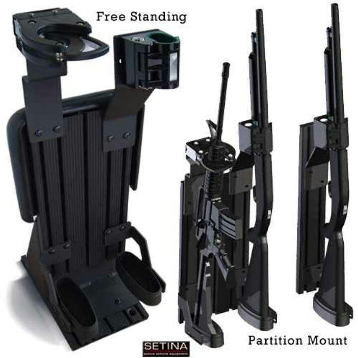Police Vehicle Gun Rack