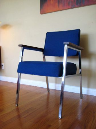 Los Angeles: Vintage Industrial Mid Century 1960u0027s Desk / Side / Accent  Chairs $100