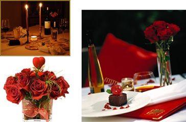 Ideas para decorar tu mesa éste 14 de febrero Haz que algún objeto de la mesa sea un punto visual importante, como un candil, un centro de mesa floral, varias velas agrupadas de diferentes tamaños, un globo, etc