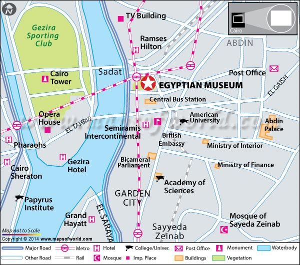 Cairo Museum, Egypt – Entrance Fee, Hours, Location, Map | Travel on