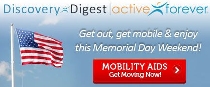 Memorial Day Insider Exclusives in today's Discovery Digest.