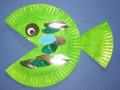arts and crafts ideas for preschoolers | paper plate fish craft | in design art and & arts and crafts ideas for preschoolers | paper plate fish craft | in ...