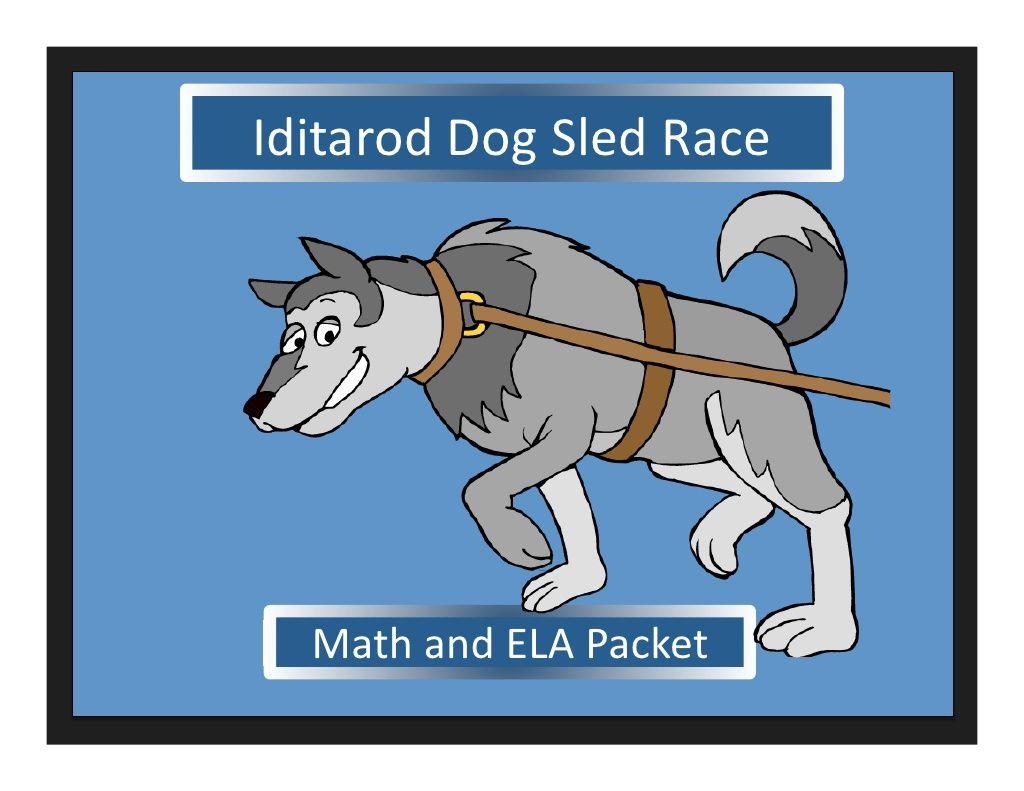 Iditarod Ela And Math Worksheets