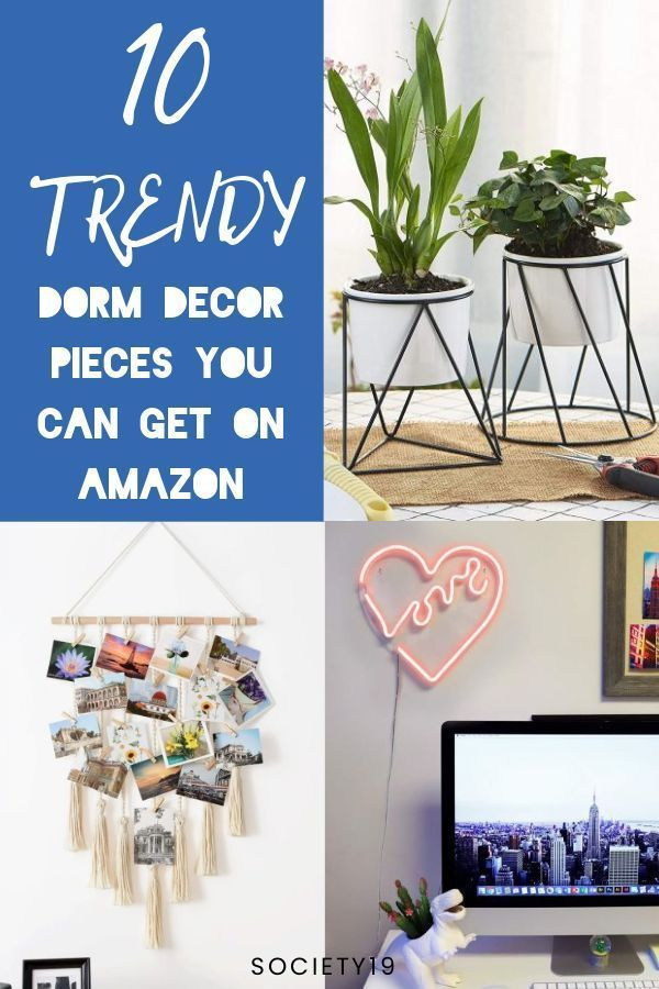 10 Trendy Dorm Decor Pieces You Can Get On Amazon Dorm