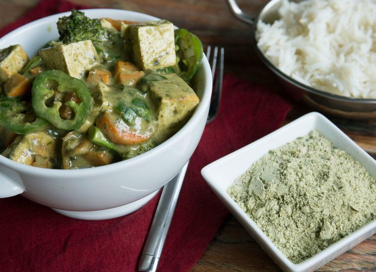 Thai Coconut Green Curry with Tofu | Healthier Meals in 2019
