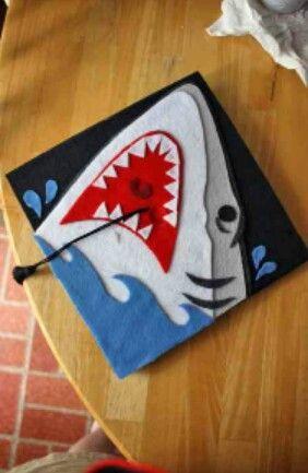 Felt Shark For Men Interested In Decorating Their Cap