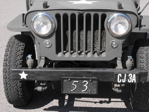 1953 Willys CJ-3A - Photo submitted by Gary O'Bryan.