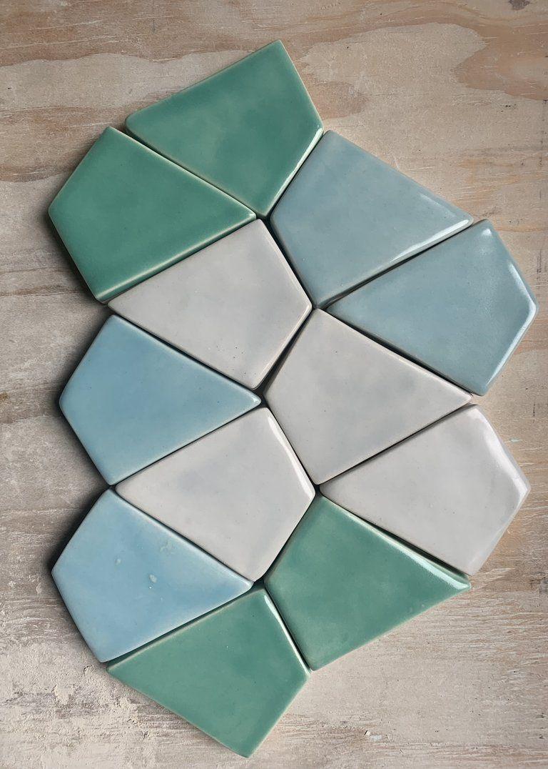 Petite Kite Tile Artwork Handmade Ceramic Tiles Pretty Tiles
