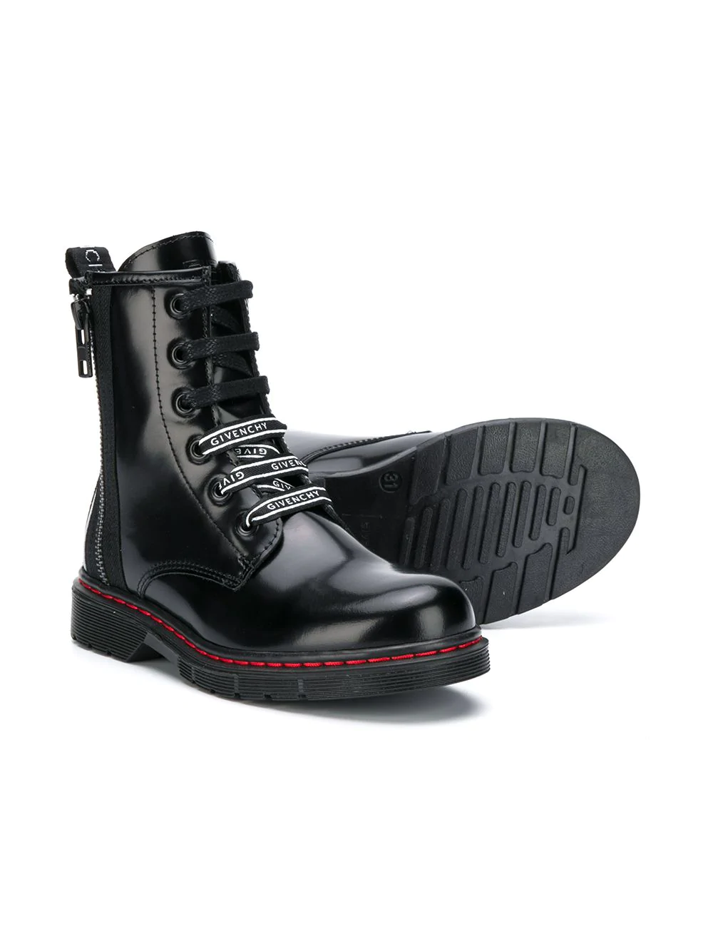 Boots, Leather lace up boots, Lace
