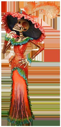 catrina - symbol of Mexico's dias de los muertos #dayofthedead