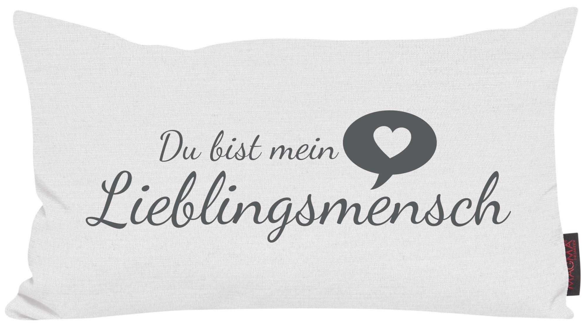 Kissen Lieblingsmensch Magma Heimtex Optiwohnwelt Valentinstag