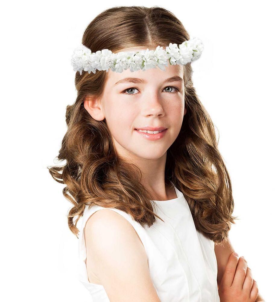 Haarkranz Blütenmeer zur Kommunion | Haarkranz