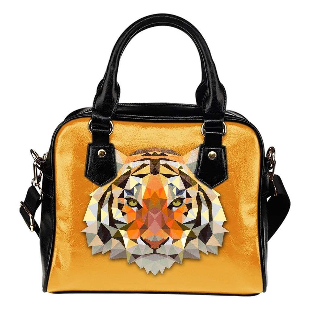 Custom Handbags Small Tiger Trouble
