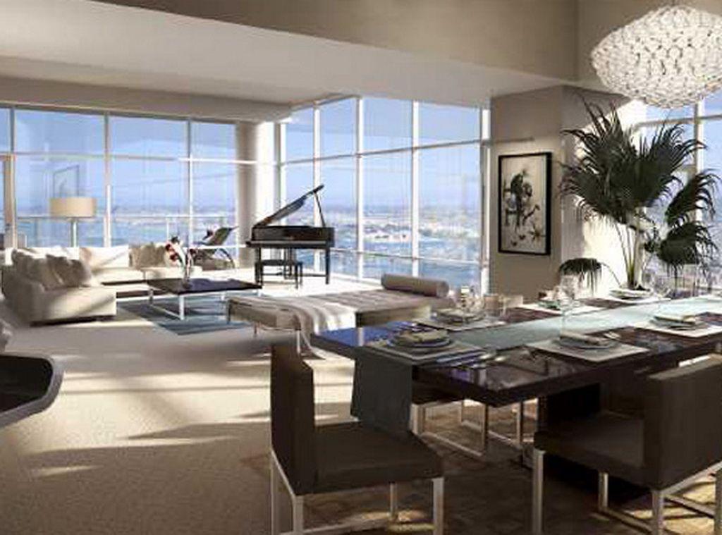 Penthouse Condo Living, Penthouses, Grand Piano, Interior Ideas, Home  Interior Design,
