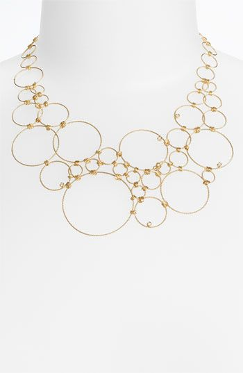 Roberto+Coin+Multi+Circle+Statement+Necklace+available+at+#Nordstrom