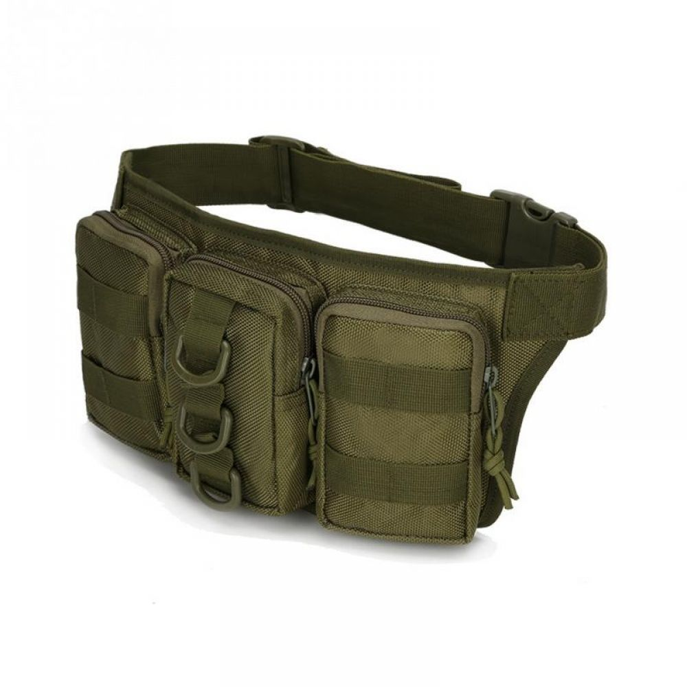 Tactical Outdoor Sports Unisex Camouflage Chest Waist Bag Fanny Pack Sling Pouch