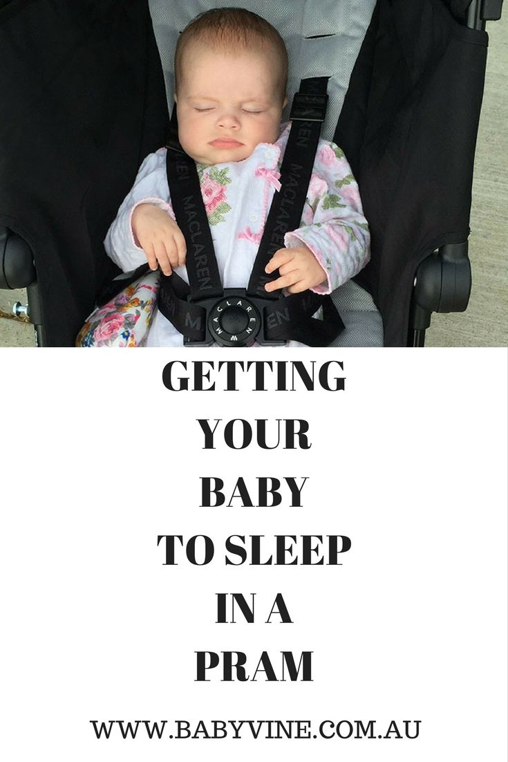 Baby Sleep Coach Cheryl Shares Her Tips On Getting Your Baby To Sleep In A Pram