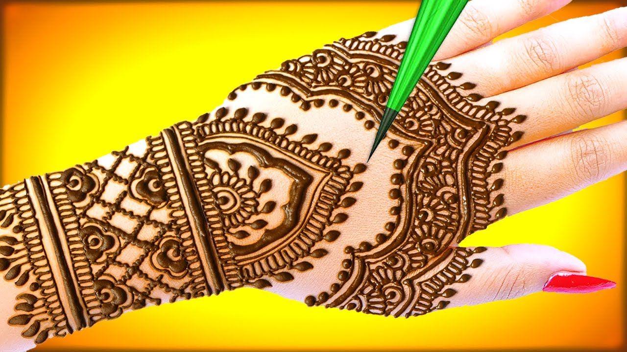 VERY BEAUTIFUL LATEST ARABIC HENNA MEHNDI DESIGN | MEHNDI DESIGNS SIMPLE AND EASY | MEHNDI DESIGNS